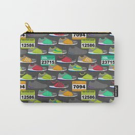 Running Shoes and Race Bibs Carry-All Pouch