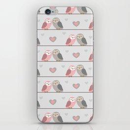 Owls in ♥ iPhone Skin