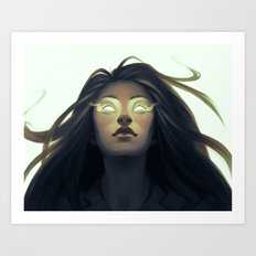 Precognition Art Print