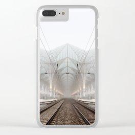 Lisbon Oriente Station Clear iPhone Case