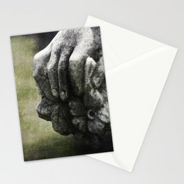 Spiders Hide Between Her Fingers Stationery Cards
