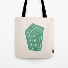 Geode II - in Emerald Tote Bag