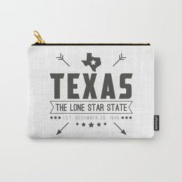 Texas State Badge Carry-All Pouch