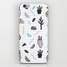 PASTEL GARDENS iPhone & iPod Skin