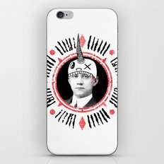 Head Hat iPhone & iPod Skin