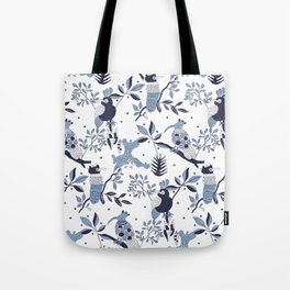 Paradise Birds Tote Bag