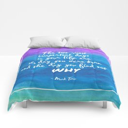 The most important days Comforters