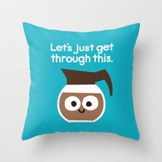 Grounds For Determination Throw Pillow
