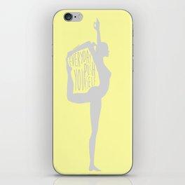 Lovin' Yoga III iPhone Skin