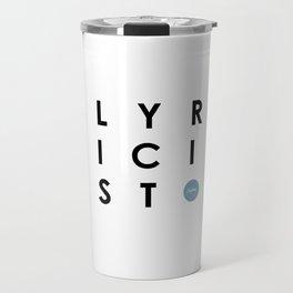Lyricist Travel Mug