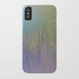 Nature background iPhone Case