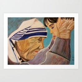 Mother Teresa's Compassion Art Print