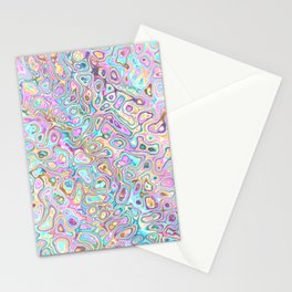 Pastel Blobs Stationery Cards