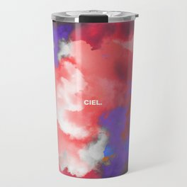Ciel (Colorful clouds in the sky II) Travel Mug