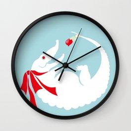 White alligator Wall Clock