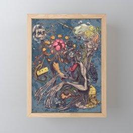 Transmigration color Framed Mini Art Print