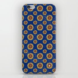 Swirly Sunflower iPhone Skin