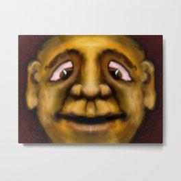 Cross Eyed Dude Metal Print