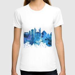 Bekasi Indonesia Skyline Blue T-shirt