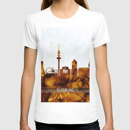 Duisburg Germany Skyline T-shirt
