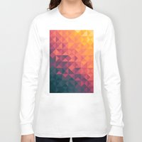 twilight Long Sleeve T-shirts featuring Infinity Twilight by Picomodi