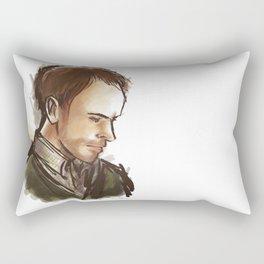 elementary: man of details Rectangular Pillow