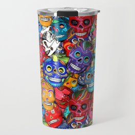 Calaveras Pequeñas - Little Sugar Skulls Travel Mug