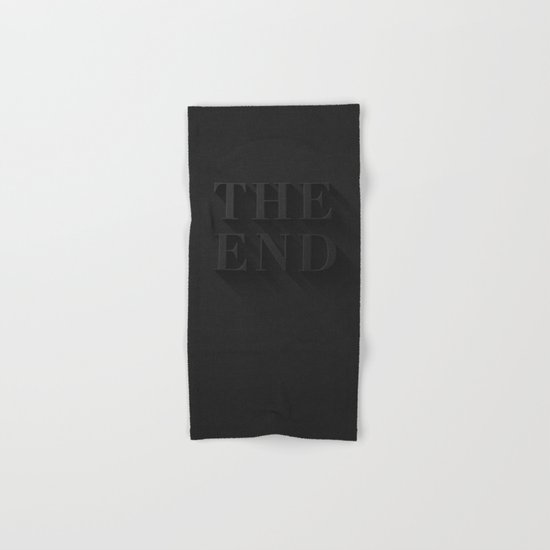 THE END Hand & Bath Towel