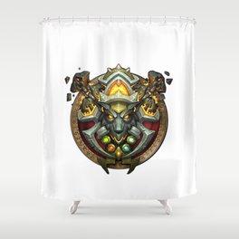 Shamn Sigil Shower Curtain
