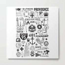Providence Rhode Island Print Metal Print