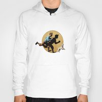 tintin Hoodies featuring tin tin advanture by aleha