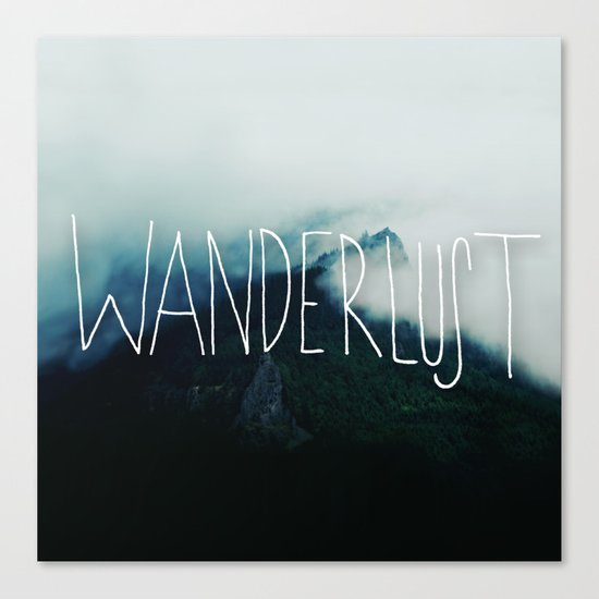Wanderlust: Columbia River Gorge Canvas Print