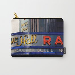 Radio City Music Hall NYC Carry-All Pouch