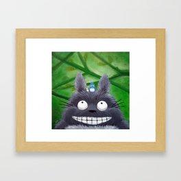 Totoro Tots Framed Art Print