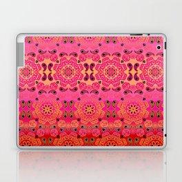 Pink Haze Bandana Ombre' Stripe Laptop & iPad Skin