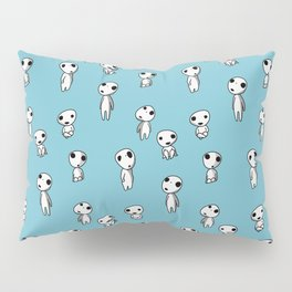 Kodama Party (Blue) Pillow Sham