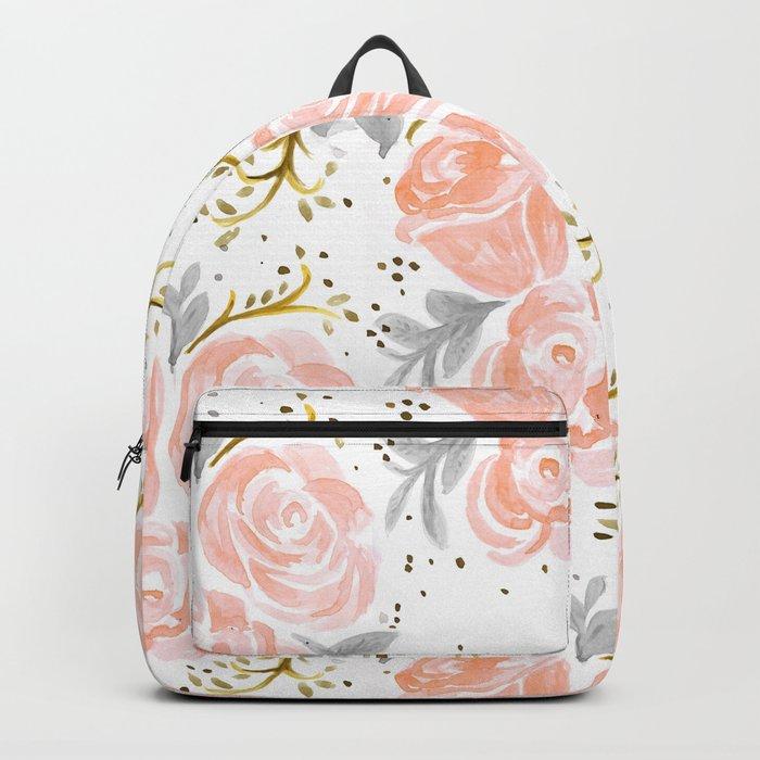 Sparkling Rosé flora Backpack