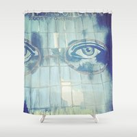 gatsby Shower Curtains featuring Gatsby by Kayleigh Kirkpatrick
