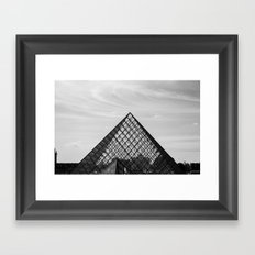 The Louvre Framed Art Print