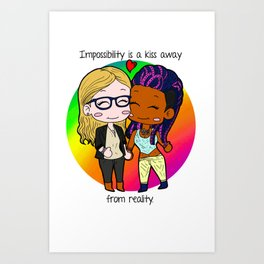 Impossibility Art Print