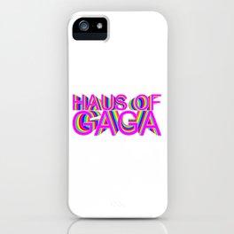 HAUS OF QUEEN iPhone Case