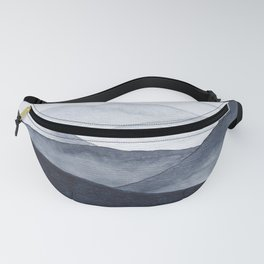 Watercolor Mountains Fanny Pack