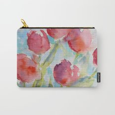 Tulips (watercolor) Carry-All Pouch