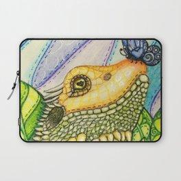 Irene's Bearded Dragon Square Laptop Sleeve