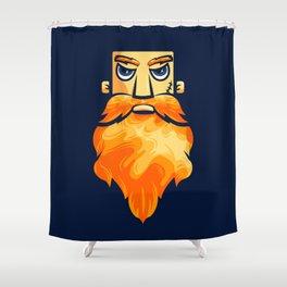 Oh my beard! Shower Curtain