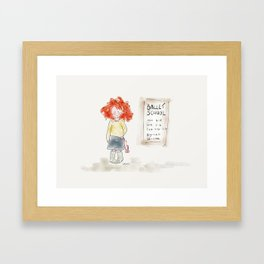 Ballet School Framed Art Print