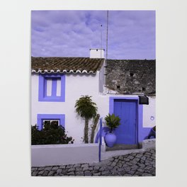 Home in Nazare Poster