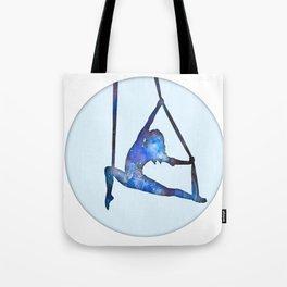 Galaxy Aerialist Tote Bag