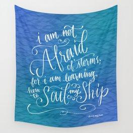 Sail My Ship Wall Tapestry