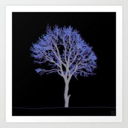 Electric Tree 01.5 Art Print